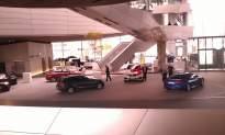 BMW Welt - az átadó színpad